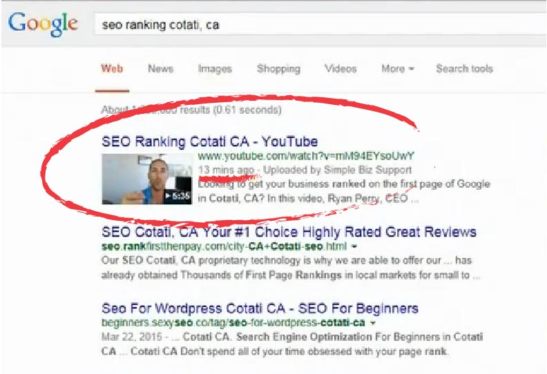 Get ranking on Google in 2 hours