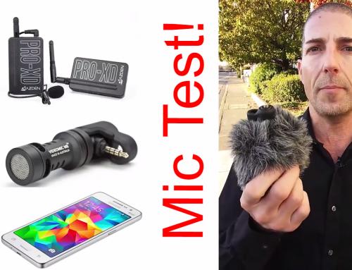 Smartphone Mic Test – Wireless Vs Plugin Vs Built In