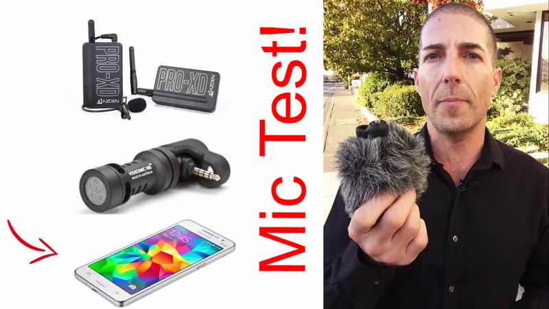 Smartphone Mic Test